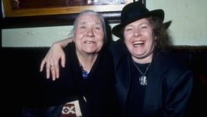 Dolores Keane (right) with Bridget Ward in The Quays in 1991