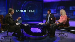 Mr Shatter caused controversy when he revealed on RTÉ's Prime Time that Mick Wallace had been cautioned by gardaí for using his mobile phone while driving