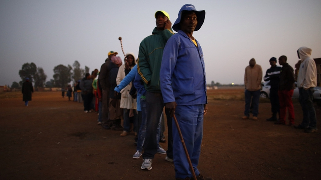 Many South Africans are casting votes for the first time