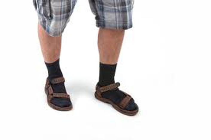 New fashion Trend - sandals & socks