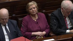 Frances Fitzgerald, pictured as her appointment as Minister for Justice was announced today