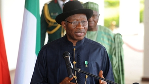 Goodluck Jonathan said rescue of schoolgirls would be the beginning of the end of terrorism in Nigeria