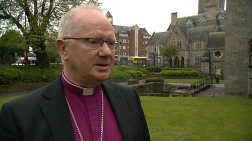 Archbishop Clarke was speaking at the Church of Ireland Synod in Derry
