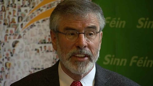 Gerry Adams said Joan Burton's election is of 'little consequence'
