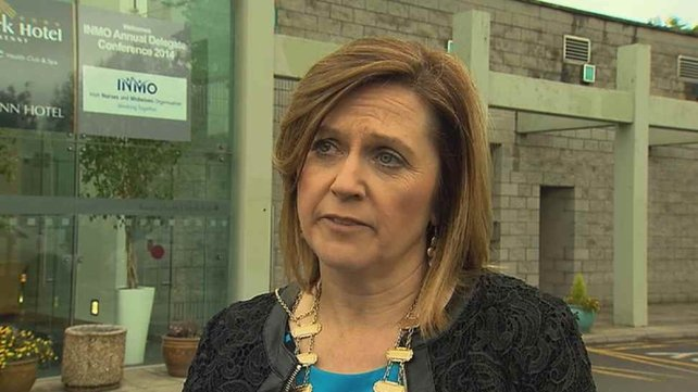 Claire Mahon said the Government must introduce mandatory safe staffing levels