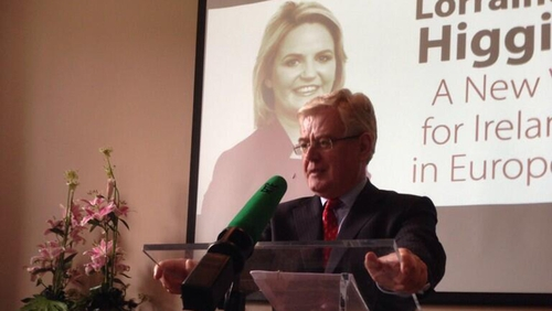 Eamon Gilmore said investors wanted to see candidates who were serious about economy
