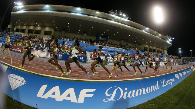 The Diamond League is the event to be involved in
