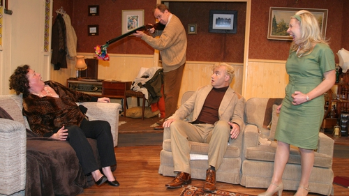 Bradán Players perform Who's Afraid of Virginia Woolfe?