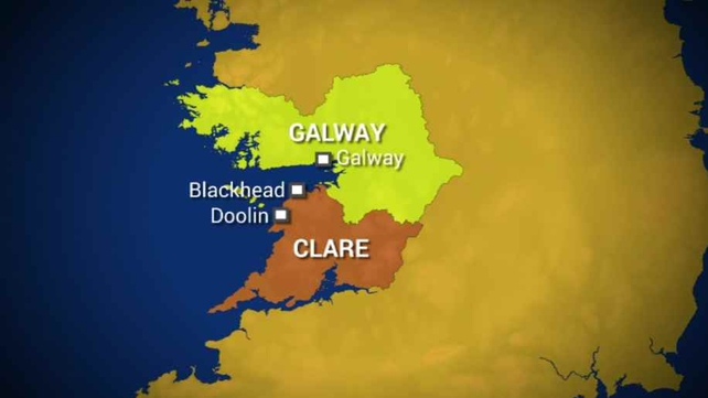 The boy was airlifted from Clare to Galway on Sunday night