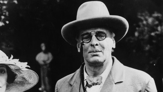 Irish poet William Butler Yeats (1930)