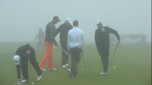 No play was possible on the opening day of the Madeira Islands Open