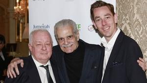 Jim Sheridan, Omar Sharif and Ryan Tubridy