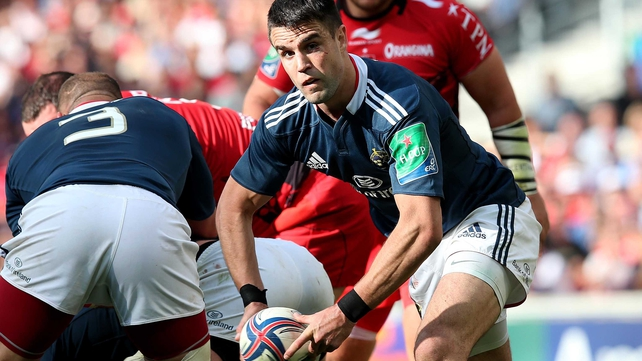 Conor Murray helped Munster to the Heineken Cup semi-finals