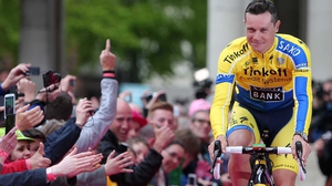 Victory perfect boost for Roche ahead of next month's Tour de France