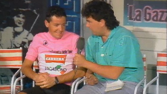 Stephen Roche and Des Cahill (1987)
