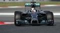 Hamilton heads up Spanish practice