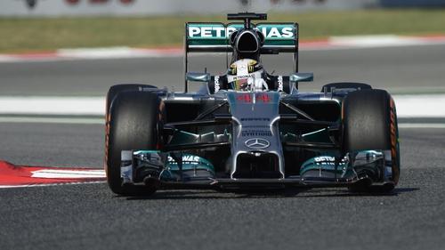 Lewis Hamilton will take his place in the Azeri Grand Prix in 2016