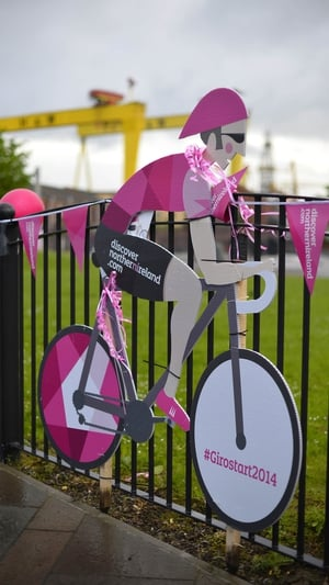 Giro fever on the Newtownards road