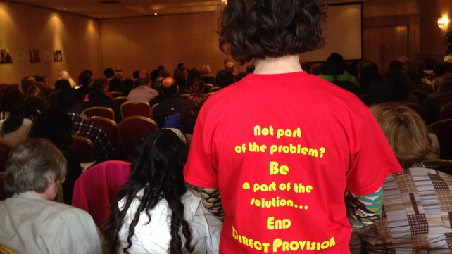 Direct Provision was described as institutionalised living that dehumanised people