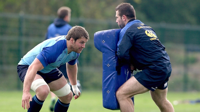 Sean O'Brien in training this week