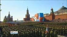 Putin in Crimea as Russia celebrates WWII victory