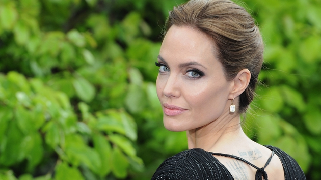 Angelina Jolie sparkles at Maleficent event in London