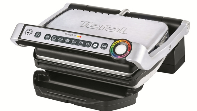 The sleek and stylish OptiGrill from Tefal