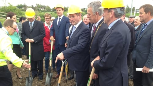 Enda Kenny said the infrastructure was much needed