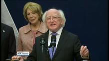 President Higgins optimistic for undocumented Irish