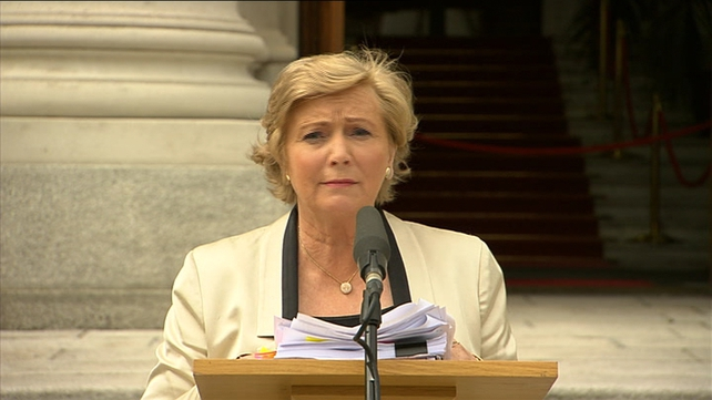 Frances Fitzgerald said the Government is taking steps to remedy systemic failings