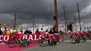 The 2014 Giro d'Italia started in Belfast