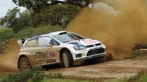 Jari-Matti Latvala leads at the Rally Argentina