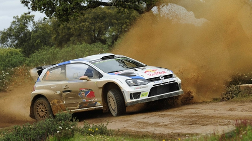 Jari-Matti Latvala leads at the Rally Argentina