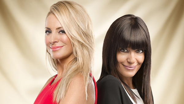Power duo: Tess Daly and Claudia Winkleman are the new Strictly team