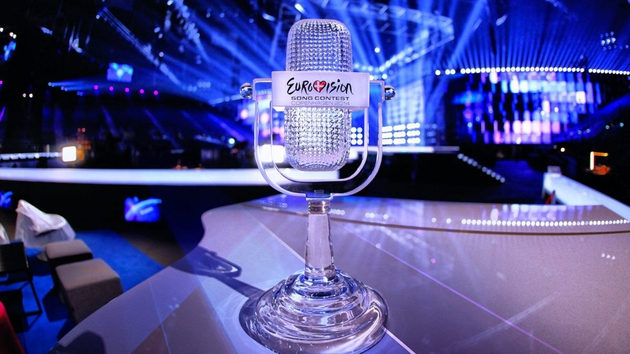 Eurovision Song Contest trophy 2014