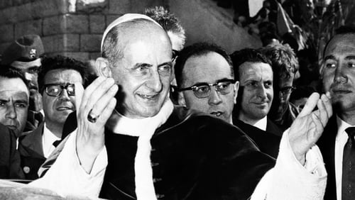 Pope Paul VI reigned between 1963 and 1978 and presided over reforms from the Second Vatican Council