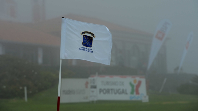 Persistent fog has cut short the action at the Madeira Islands Open