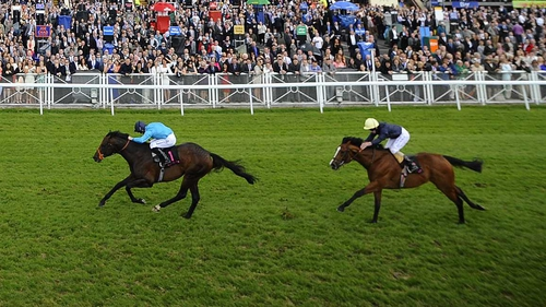 Richard Kingscote won the Boodles Diamond Ormonde Stakes on Brown Panther at Chester