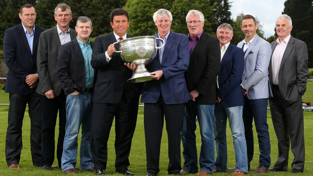 Kevin McStay, Colm O'Rourke and Pat Spillane were among the familiar faces at the launch of RTE's 2014 Gaelic Football  championship coverage