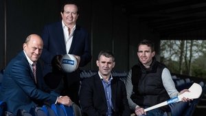 Ger Loughnane, Marty Morrissey, Liam Sheedy and Eddie Brennan at RTÉ's launch of the 2014 Championship