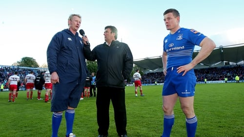 Leo Cullen said it would be tough to leave behind his playing days with Leinster