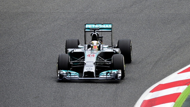 Lewis Hamilton now has 100 drivers championship points to Nico Rosberg's 97