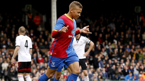 Dwight Gayle celebrates one of his goals