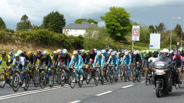 The Giro d'Italia passed through Dundalk en route to Dublin (pic: Fergal McCabe)