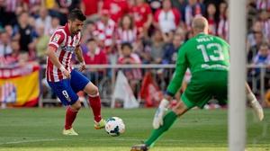 David Villa helped Atletico Madrid to La Liga title