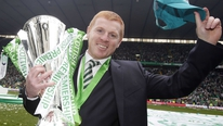 Neil Lennon hailed Celtic's consistency after they picked up the Scottish league trophy