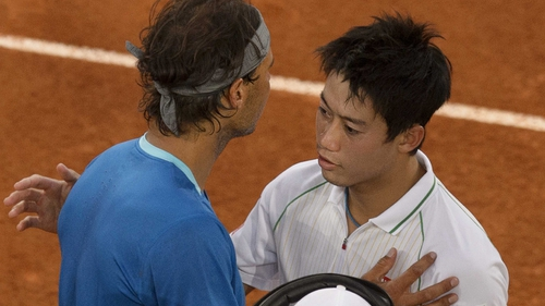 Nishikori was playing in his first Masters series final