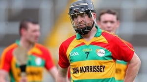 Carlow's Richard Coady is dejected after the game
