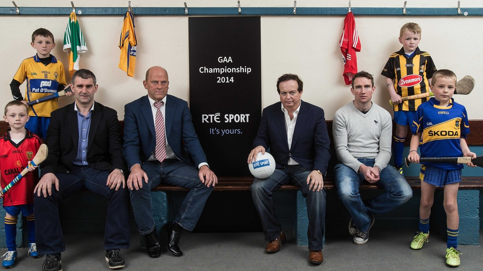 The Sunday Game season was launched in Sixmilebridge