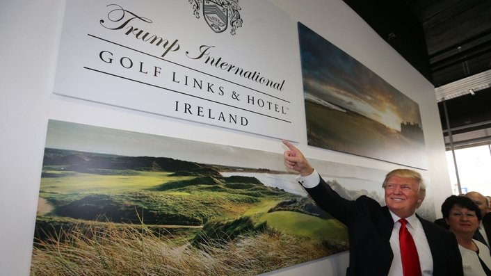 Some opposition but mostly support for Trump's plans for Doonbeg